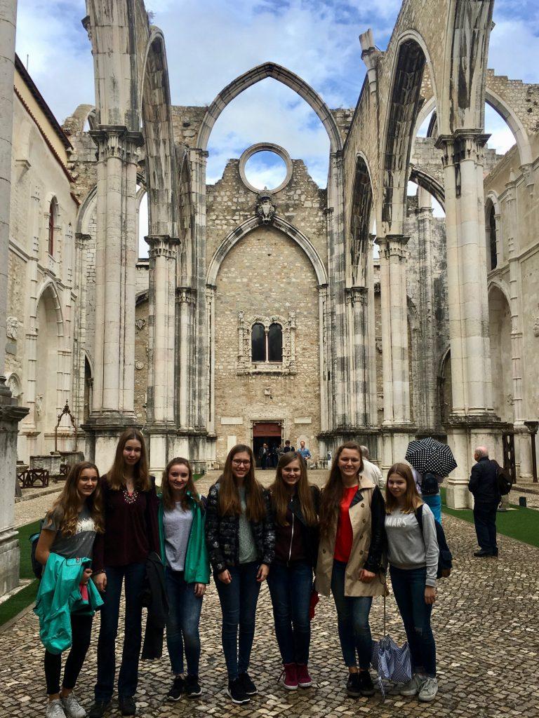 Schüler in Portugal