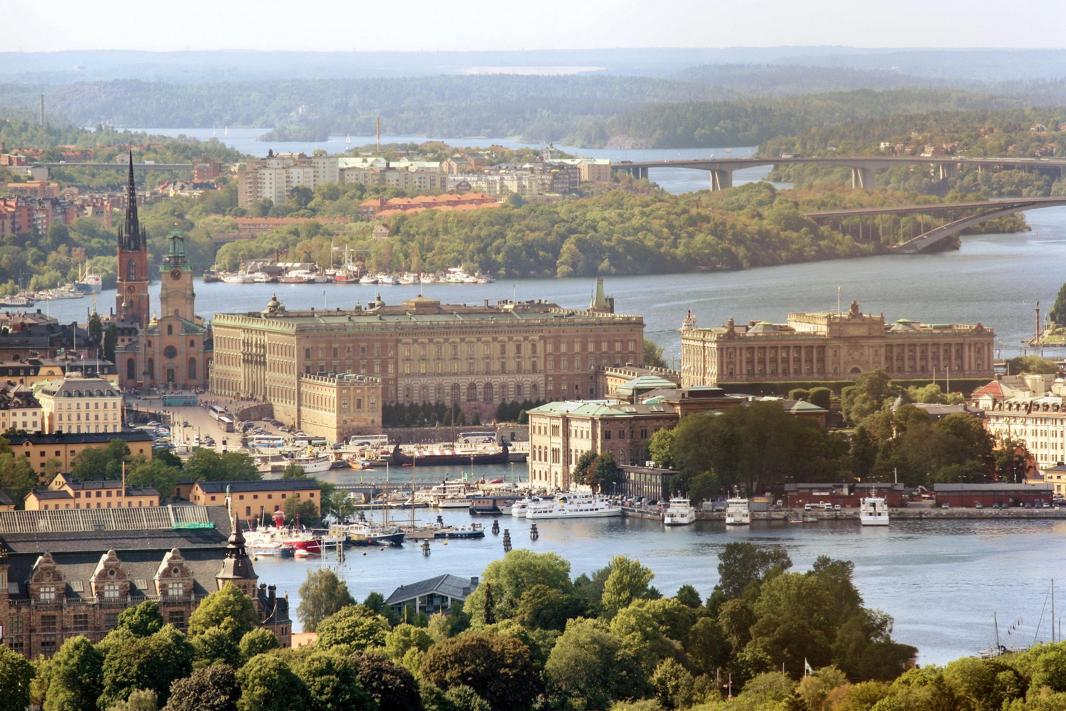 Stockholm Luftbild
